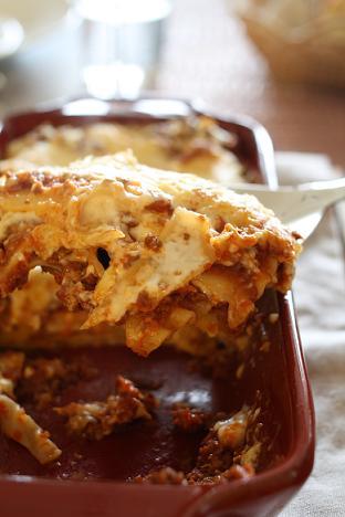 ボローニャ風ラザニア Lasagne alla bolongese_b0107003_9594753.jpg