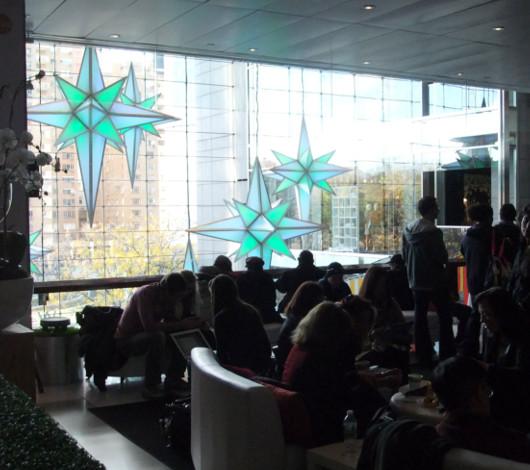 NYタイムワーナーセンターのHoliday Under the Stars_b0007805_01565.jpg