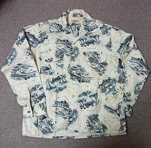 12月23日(金)入荷予定商品!追加分!40-50'S オールコットンシャツ!_c0144020_7212775.jpg