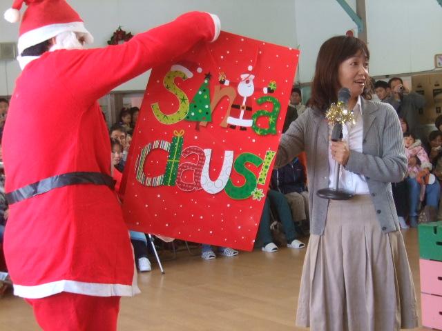 クリスマス会_d0166047_1127657.jpg