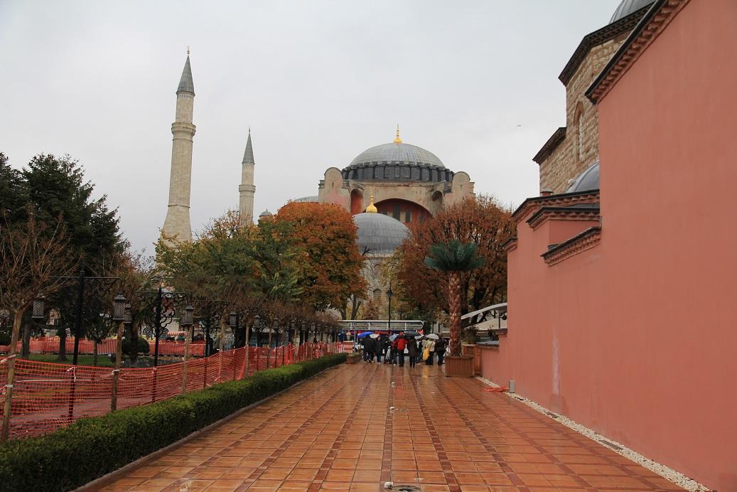 アヤソフィア その1     イスタンブール その18_a0107574_11132437.jpg