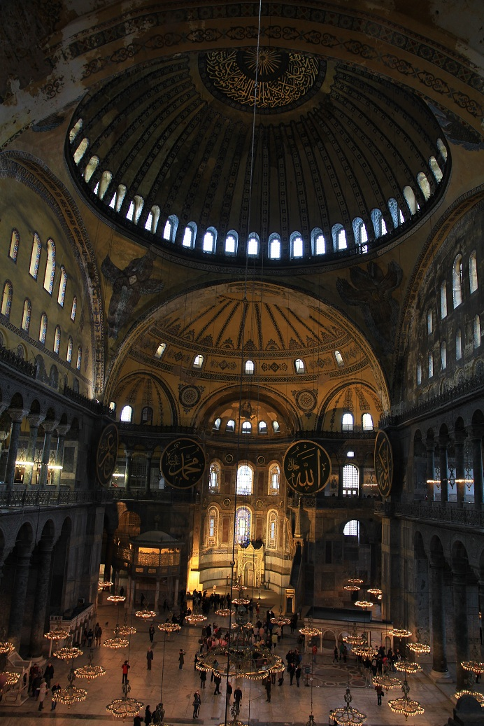 アヤソフィア その1     イスタンブール その18_a0107574_11134365.jpg