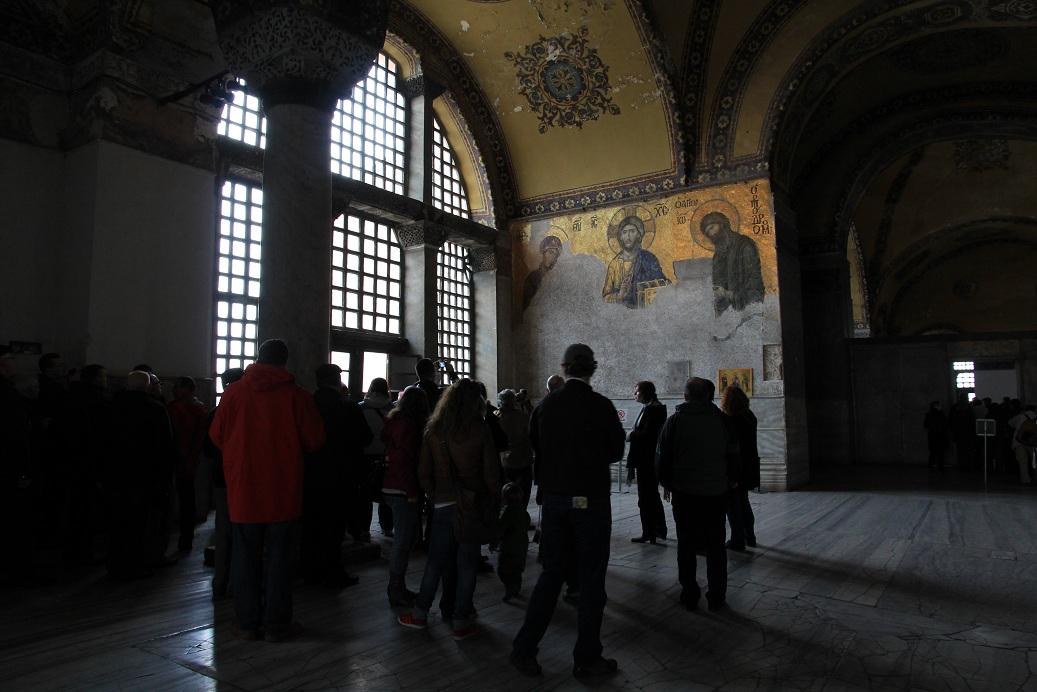 アヤソフィア その1     イスタンブール その18_a0107574_111476.jpg