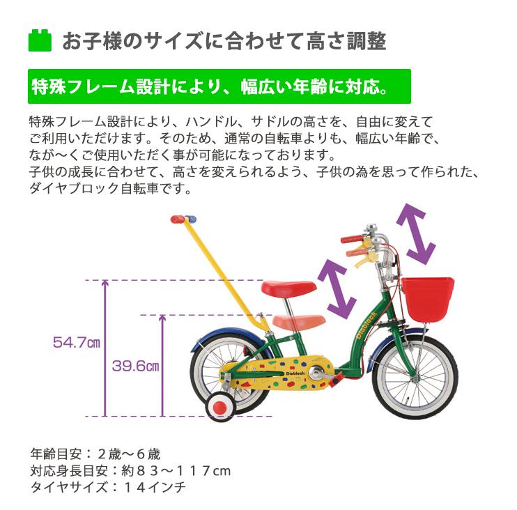 ダイヤブロックの自転車がきたよ☆_b0189682_9481164.jpg