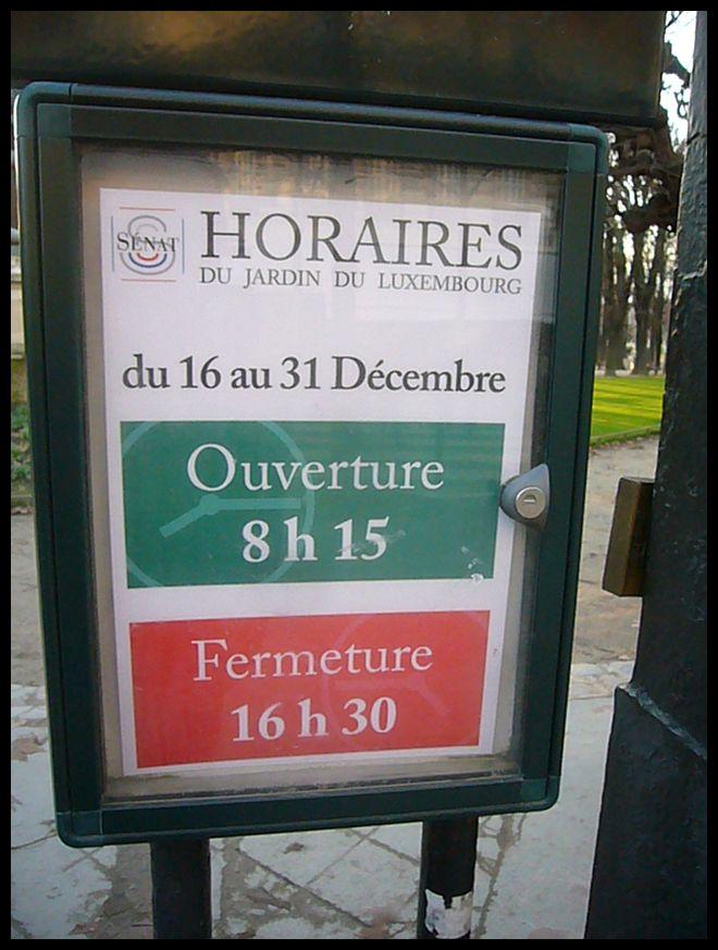 【Jardin du Luxembourgリュクサンブルグ公園】12月18日(PARIS)_a0008105_22362051.jpg