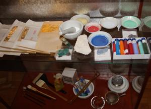 日本画家・近藤幸夫さん指導の『蔵織・日本画塾』 開催の相談をしました。_d0178448_0513583.jpg