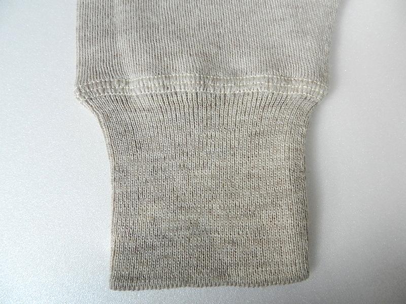 Italian army henley neck wool t-shirts long sleeve_f0226051_11334519.jpg