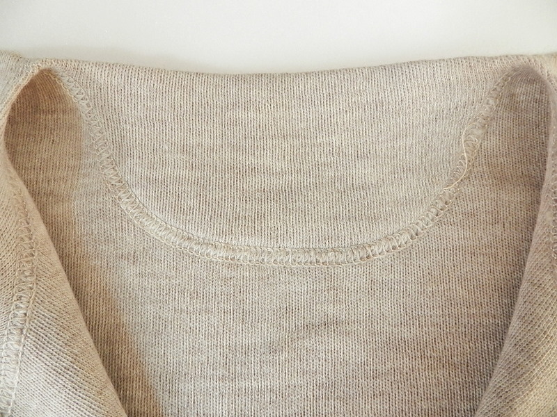 Italian army henley neck wool t-shirts long sleeve_f0226051_11385957.jpg