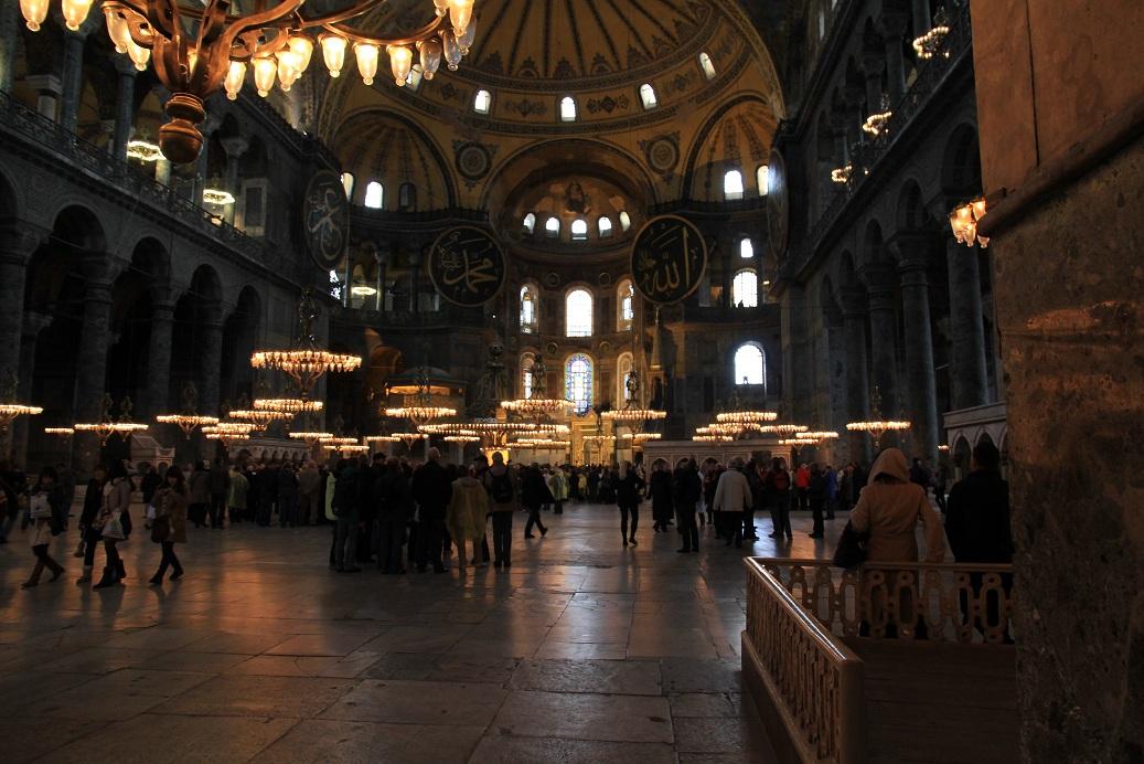アヤソフィア その2    イスタンブール その19_a0107574_14453989.jpg