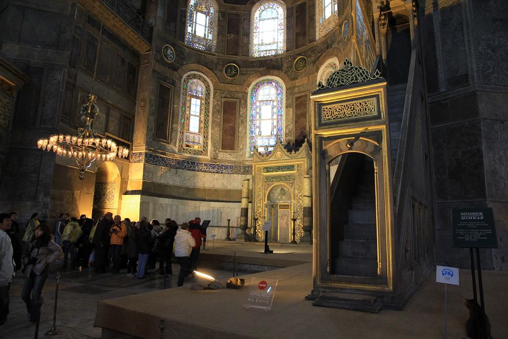 アヤソフィア その2    イスタンブール その19_a0107574_14464333.jpg