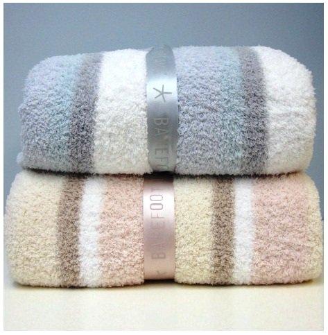 Barefoot Dreams Bamboochic Multi Stripe Twin Branket_f0111683_18304291.jpg