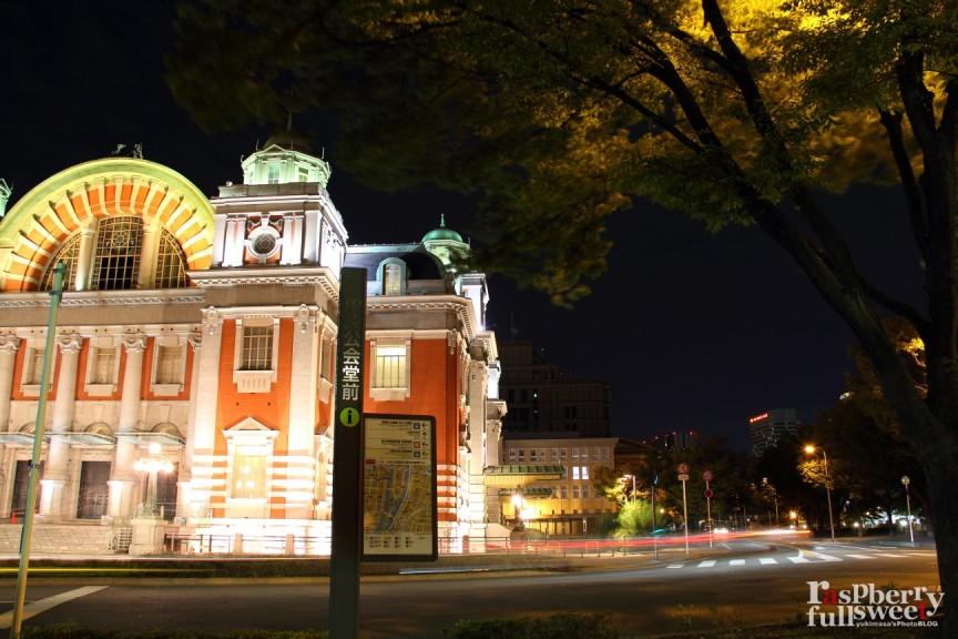 大阪市中央公会堂 / ライトアップ_b0234699_065624.jpg