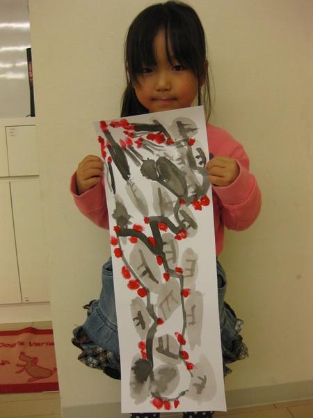 水墨画~松井山手教室_f0215199_15153965.jpg