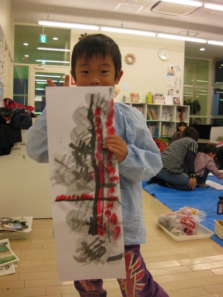 水墨画~松井山手教室_f0215199_15205075.jpg