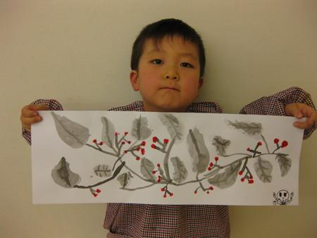 水墨画~松井山手教室_f0215199_1526035.jpg