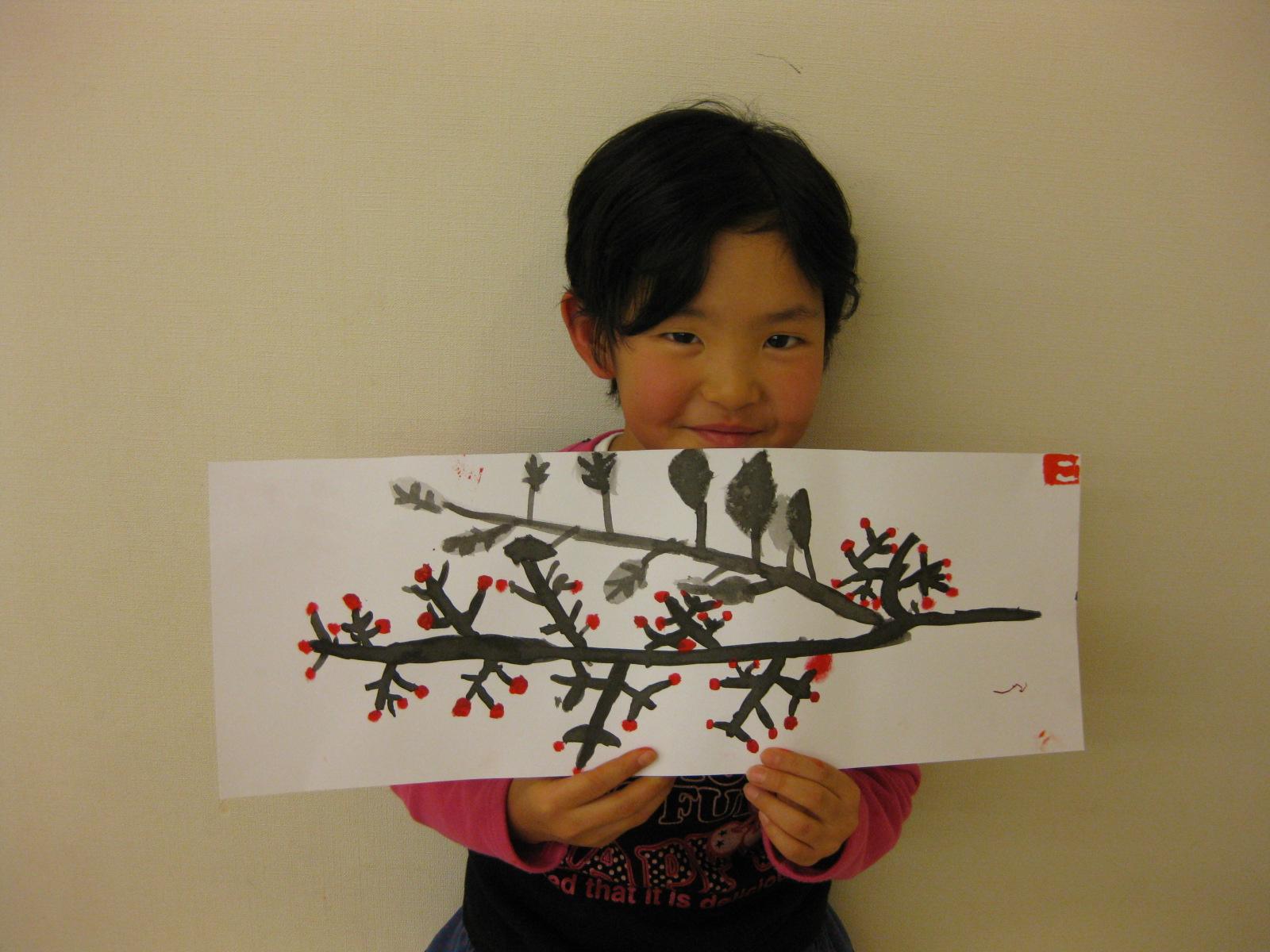水墨画~松井山手教室_f0215199_15261566.jpg