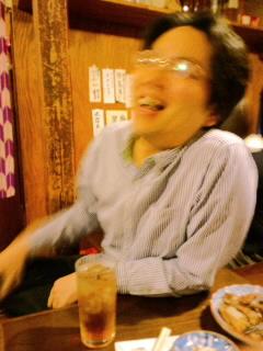 番長忘年会での社長_c0033210_23234094.jpg