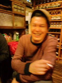 番長忘年会でのミスタ・ノグチ_c0033210_23275280.jpg