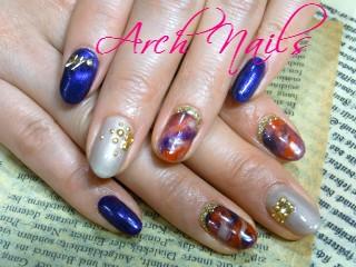 marble nail_a0117115_1392442.jpg
