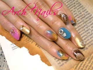 marble nail_a0117115_1414535.jpg
