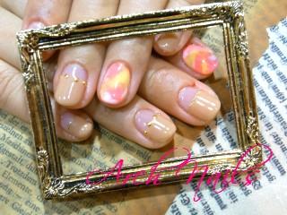 marble nail_a0117115_1431220.jpg