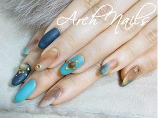 marble nail_a0117115_1495999.jpg
