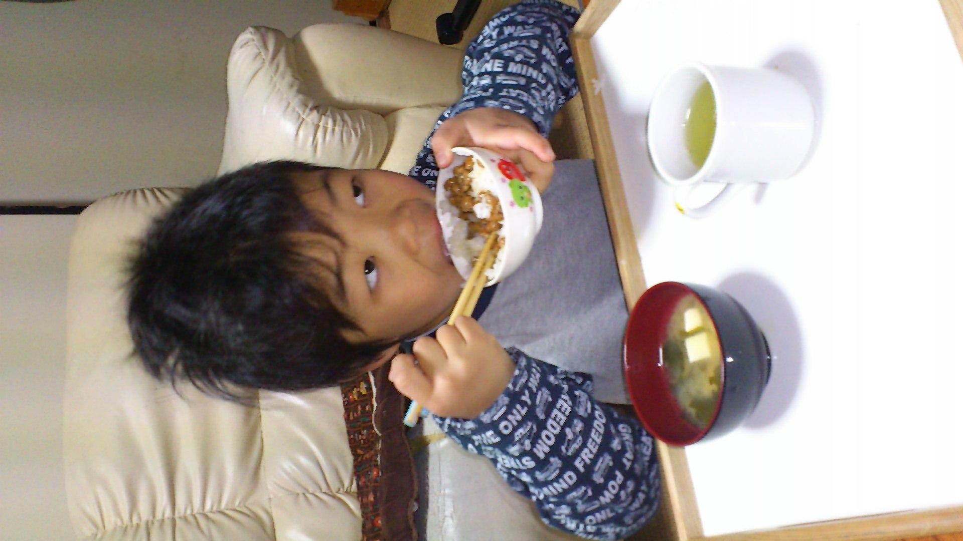 日本人の朝御飯だ!_b0039825_7441588.jpg