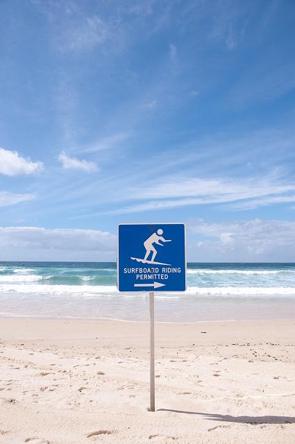 シドニー・ボンダイビーチ サーファーの聖地_f0050534_19301476.jpg