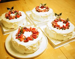 クリスマスケーキの会 第1弾 _b0228252_017354.jpg