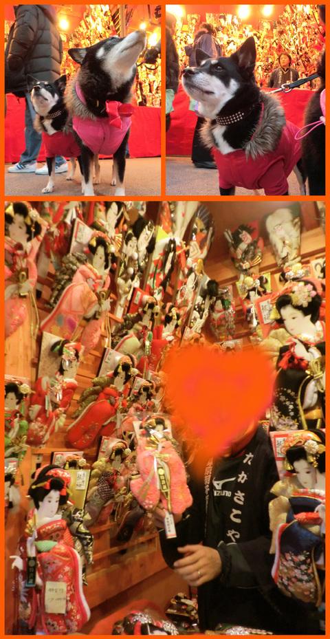 浅草寺・羽子板市へ。綺麗な姫様羽子板見たよ。_e0236072_19424621.jpg