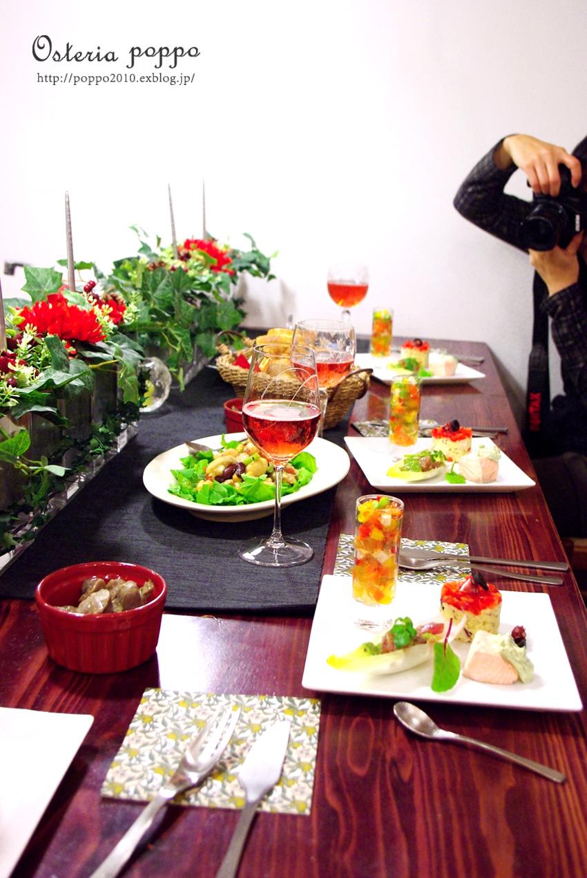 Osteria poppo Christmas party♪ _d0159001_1385062.jpg