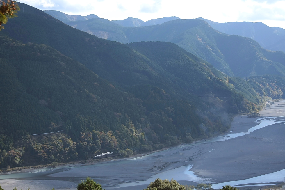 川と雲と山の風景 - 2011年秋・大井川 -_b0190710_22224692.jpg