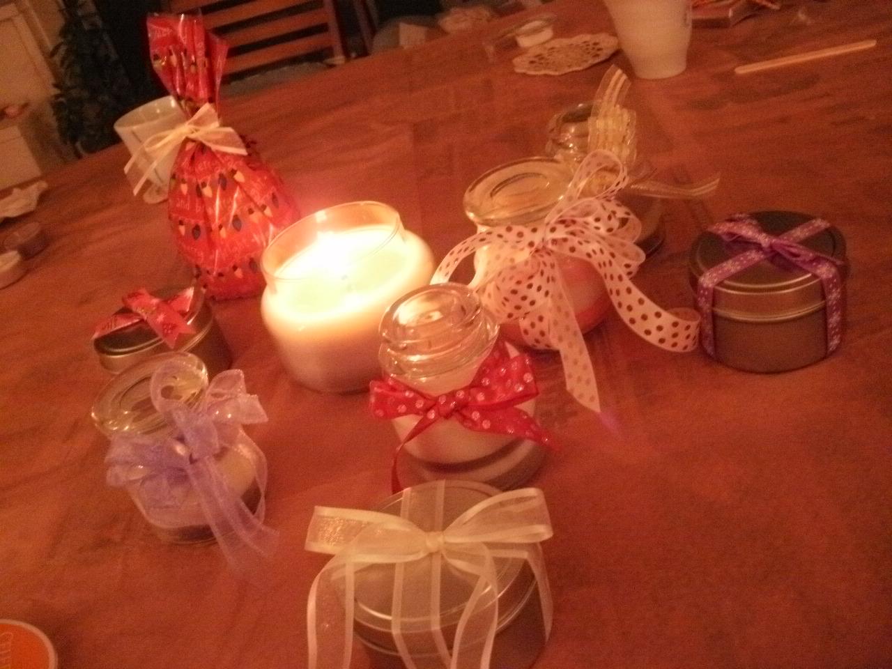 クリスマスのソイキャンドルクラス♪ ♪ ♪_f0095325_1335893.jpg