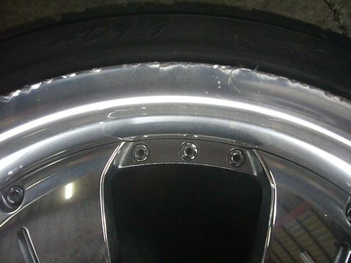 アルミホイール修理・パウダーコート・車内内装修理  S・D-76_a0196542_18375724.jpg