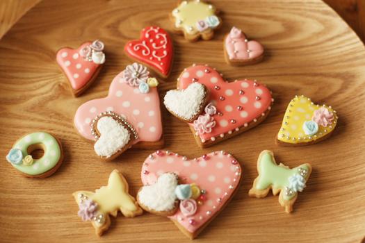 バレンタインのアイシングクッキー_f0149855_20131291.jpg
