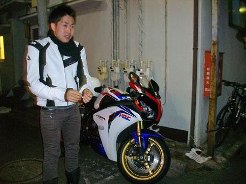 バイク仲間と忘年会的な♪_c0086965_170068.jpg