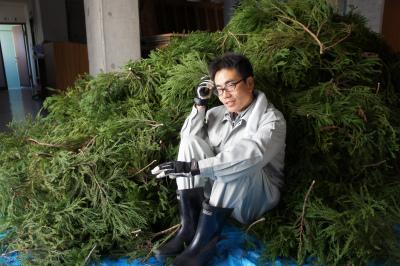 杉玉づくり 2011_f0138874_11233285.jpg