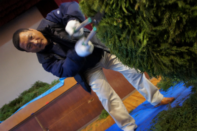 杉玉づくり 2011_f0138874_1127530.jpg