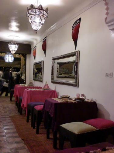 旅日記 モロッコ・パリ JAN2011 その10 Restaurant Naima_f0059796_22565429.jpg