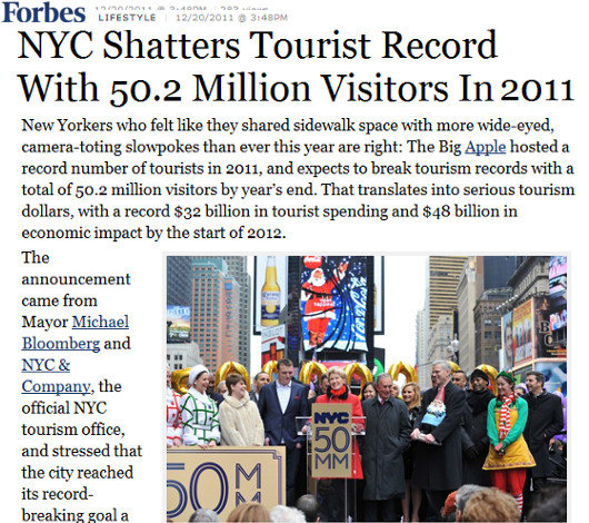 2011年、NYを訪れた観光客は史上最多の5,020万人を記録_b0007805_1049677.jpg