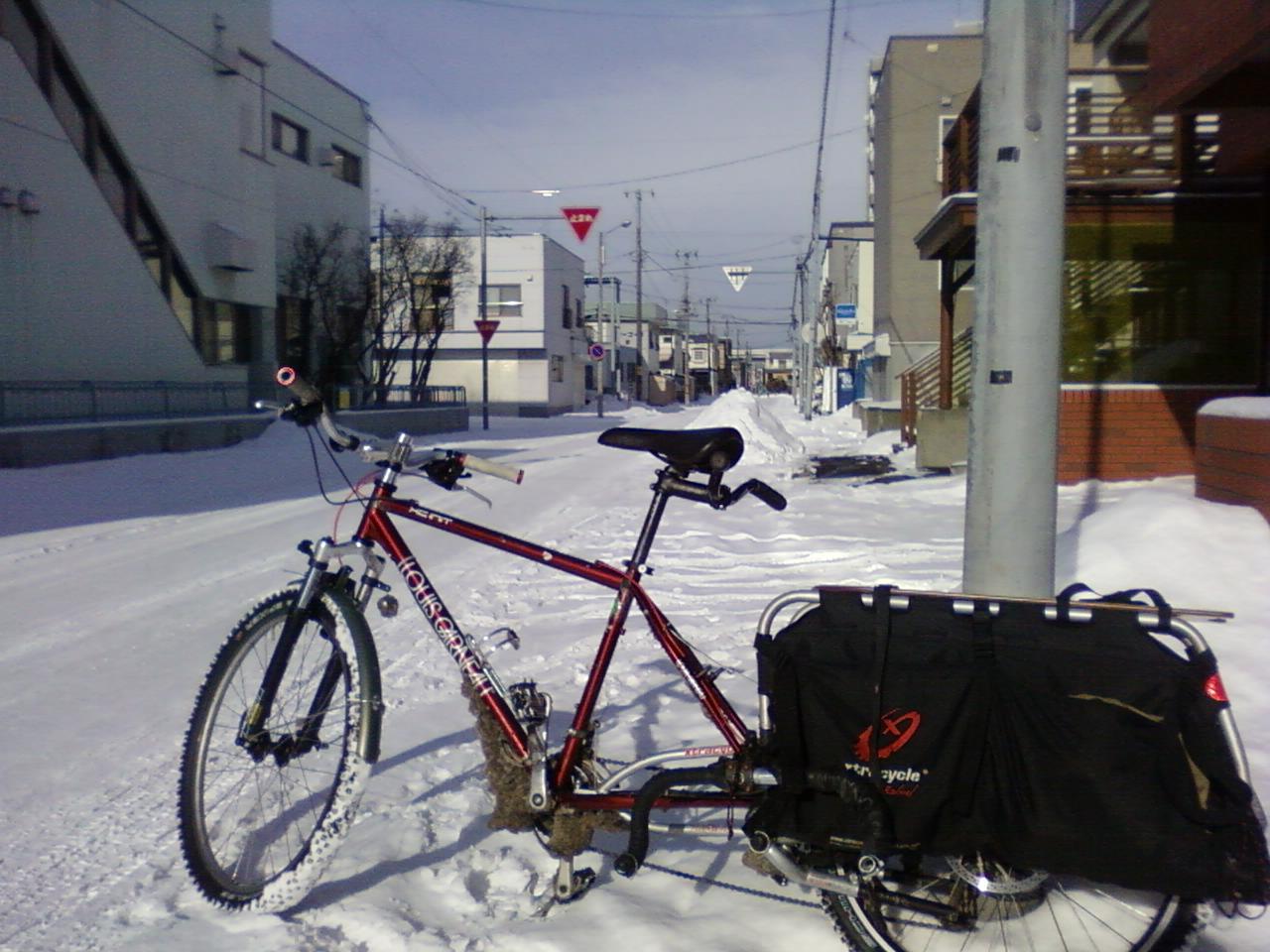 冬季仕様長尺自転車運用悲喜交々 1_d0197762_725494.jpg