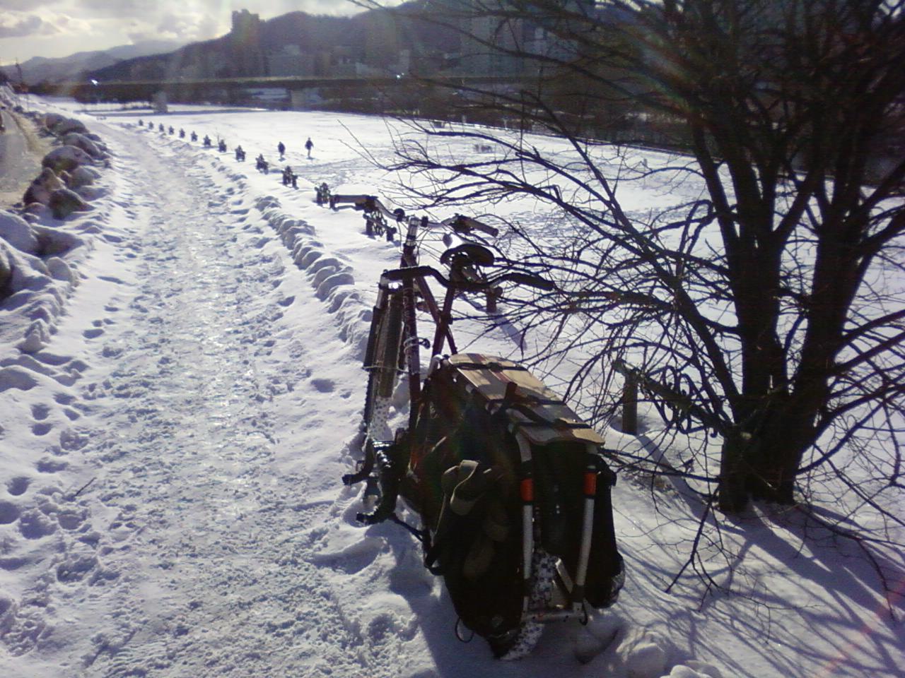 冬季仕様長尺自転車運用悲喜交々 1_d0197762_7294947.jpg