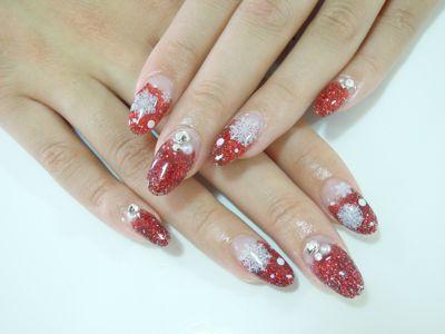 Red Snow Nail_a0239065_16573665.jpg