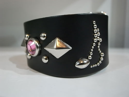 【RISK×MODERN PIRATES】♪STUDS WRIST BAND入荷のお知らせ_a0097901_18183445.jpg