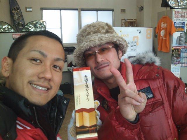 芳田様ご来店(^o^)_b0127002_10422616.jpg