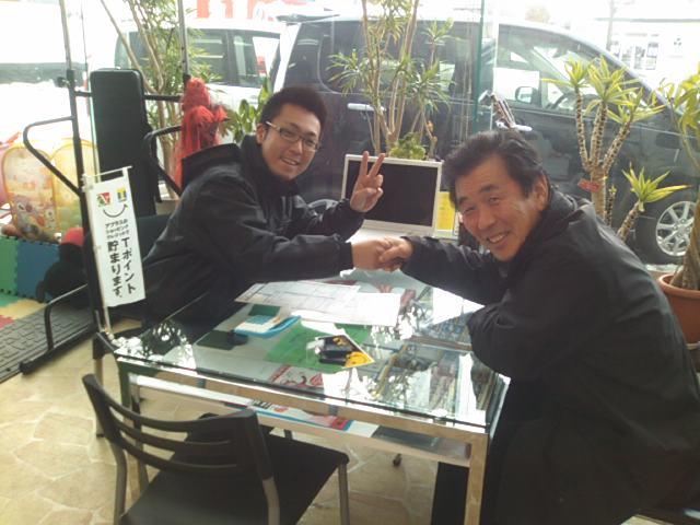 ランクル TOMMY札幌店 12月23日 児島様 マジェスタ ご成約☆_b0127002_1746232.jpg