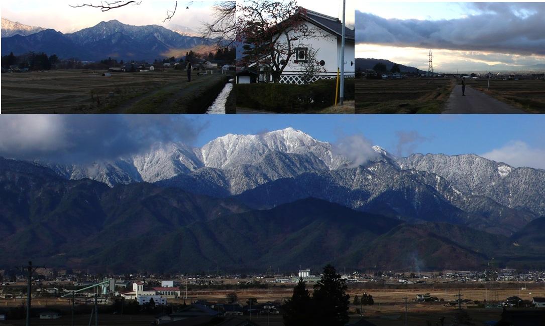 冬の安曇野 朝食前の散歩_a0212730_10113013.jpg