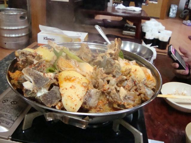 新大久保「韓国料理 松屋」へ行く。_f0232060_20132715.jpg