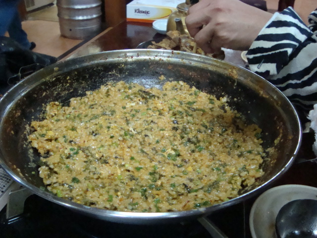 新大久保「韓国料理 松屋」へ行く。_f0232060_20193956.jpg