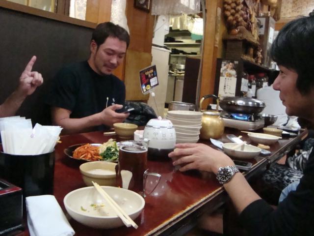新大久保「韓国料理 松屋」へ行く。_f0232060_2052755.jpg